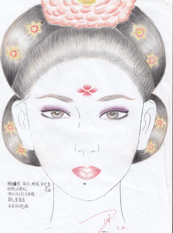 化妆 手绘_第2页_手绘
