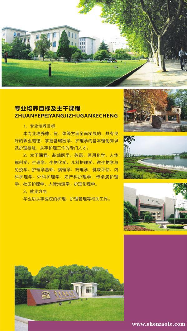 华中科技大学2015年高职(专科)招生简章