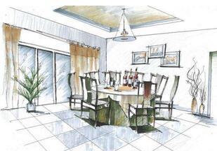 1、素描基础 2、线条讲解-重庆室内设计全能班7个月图片