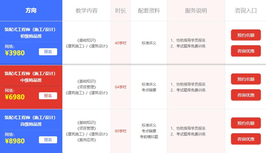 北京装配式工程师费用多少