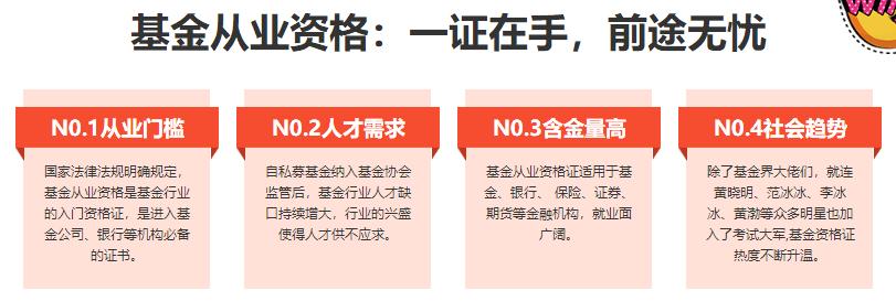 北京基金从业资格考试培训机构