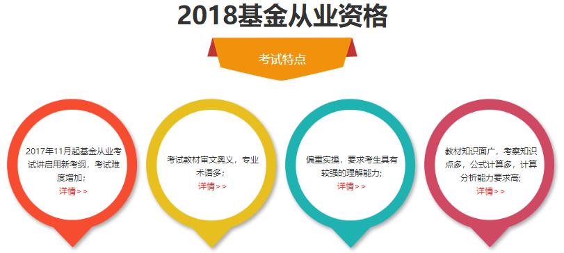 北京基金从业资格考试网络培训