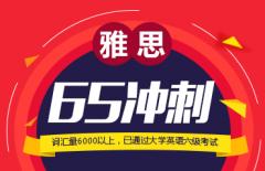 雅思65冲刺铂金课程