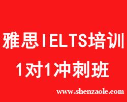 重庆雅思IELTS 1对1冲刺班